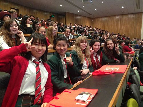Every year we participate in the NCEA Japanese Language day at the University of Canterbury.