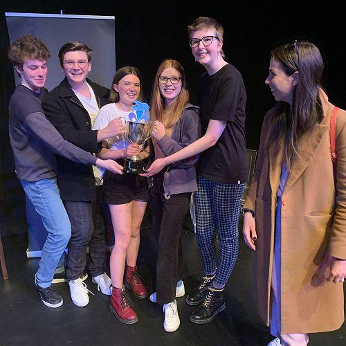 Senior Theatresports winners - scratch team