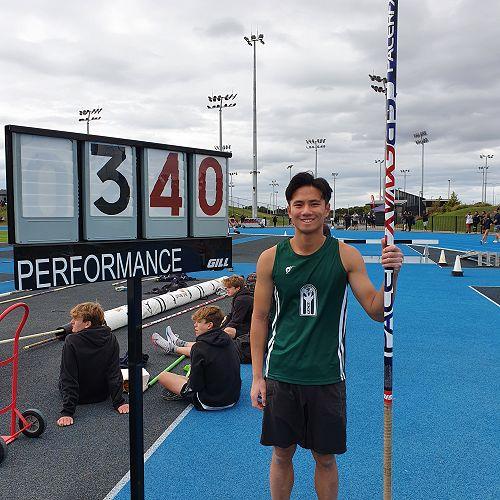 Vincent Chen - 2nd U19 Pole Vault (CSS Athletics)