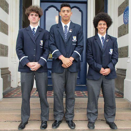 Nicolas Sharp, Masyn Opetaia and Noah Rooney
