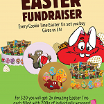 Easter Cookie Fundraiser