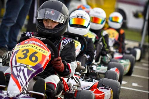 Liam Pink - Karting
