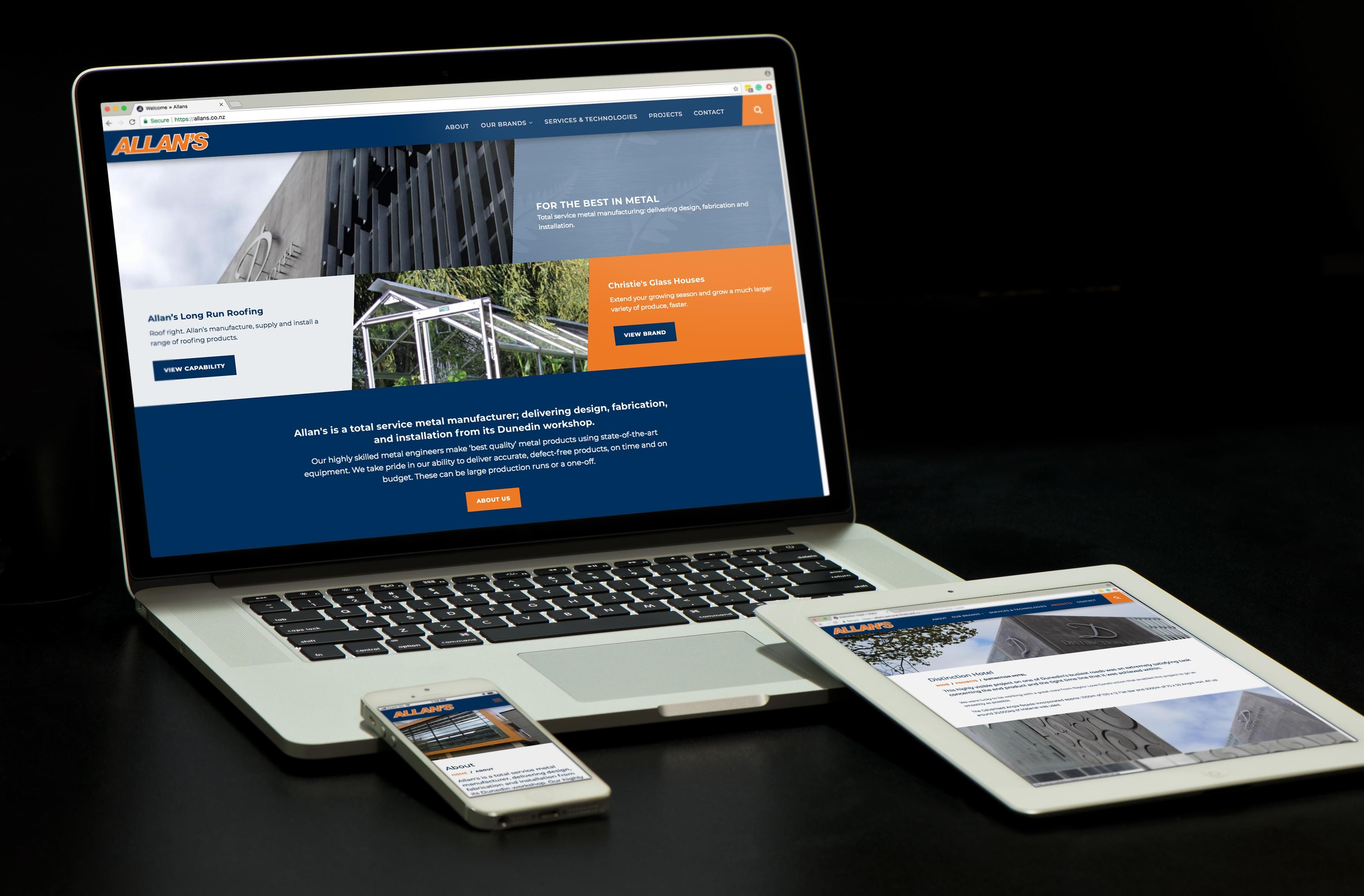 Allans website