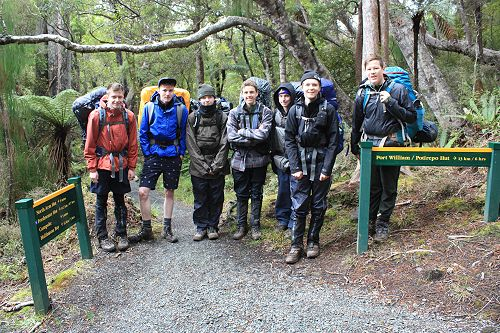 Duke of Edinburgh - Stewart Island