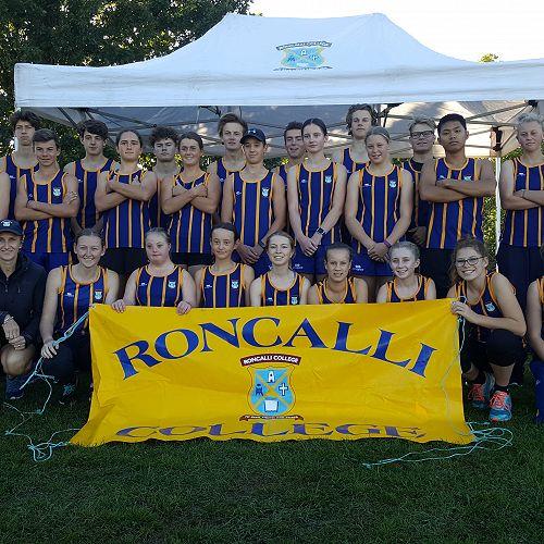 Roncalli College ~ Aoraki Athletics Team 2018
