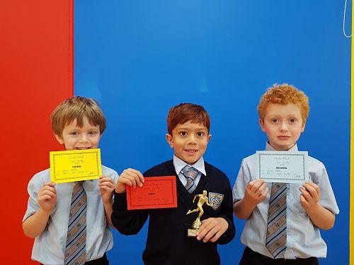 Year 1 Cross Country Winners
