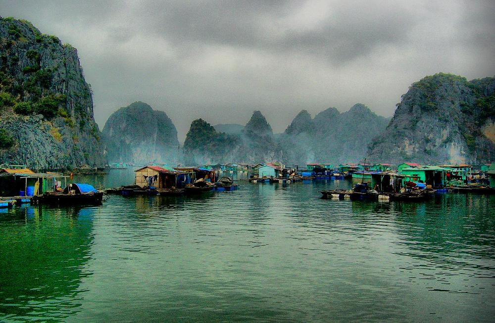 Halong Bay, North Vietnam,