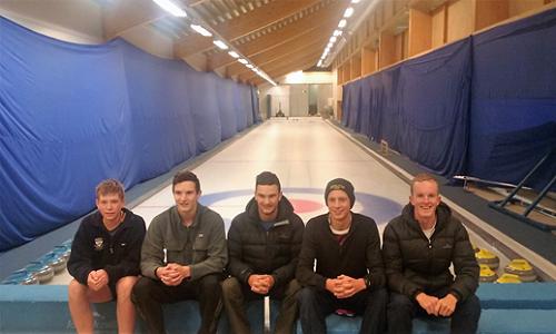 First day at Kisakallio Sports Institute.