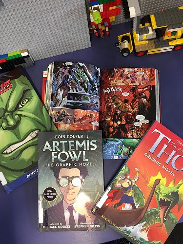 Some of the graphic novels (not comics!!)