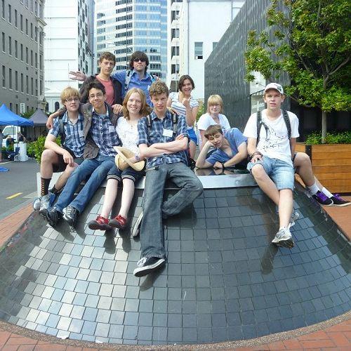 Group Photo at Geek Camp