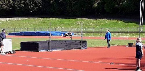 Ashley Te Huia, U12 Boys High Jump - 4th, 1.28m