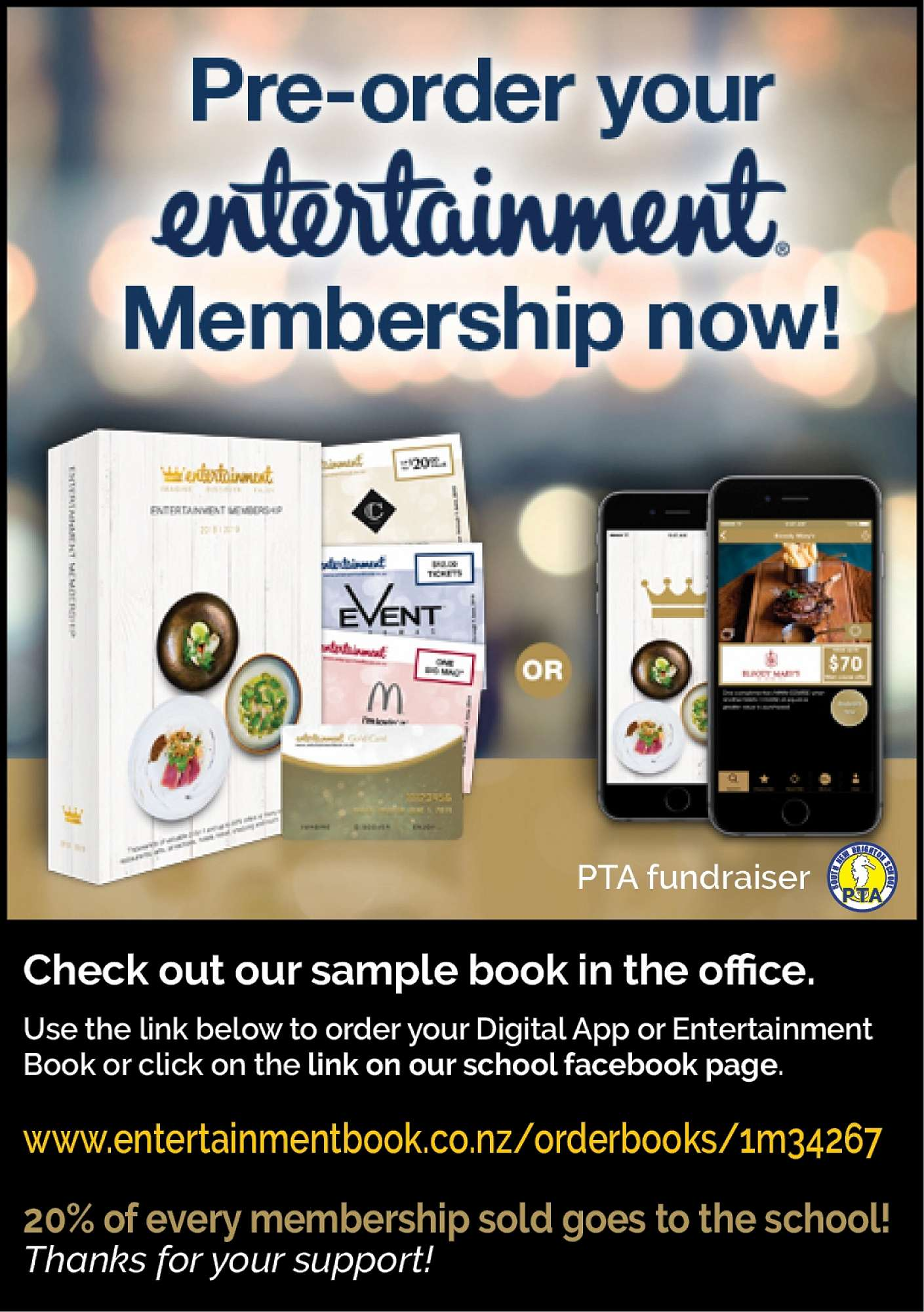 Entertainment Book App