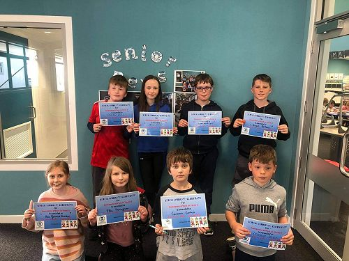 Senior assembly certificate winners for all-round