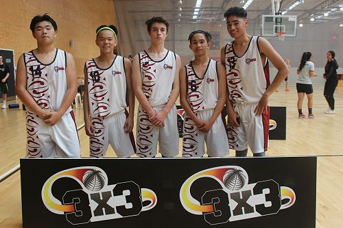 Senior boys team