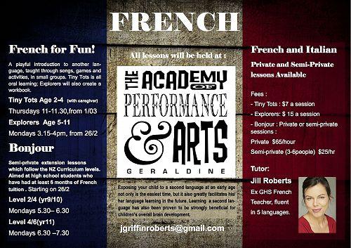 Geraldine Academy News