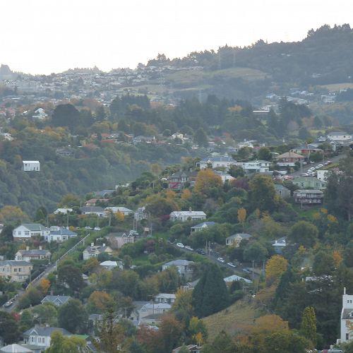 View of Dunedin City during Lockdown