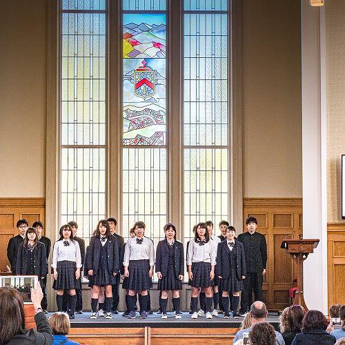 Ichikawa High School Farewell - John McGlashan College Chapel - Friday 23rd March 2018