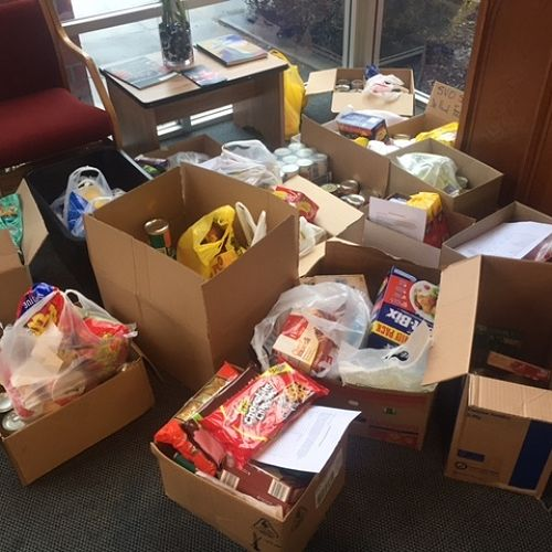 Donations made towards Papanui St Vincent de Paul Society's weekly food parcels.