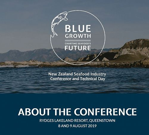 The NZ Seafood annual industry conference is immediately before our lobster one.