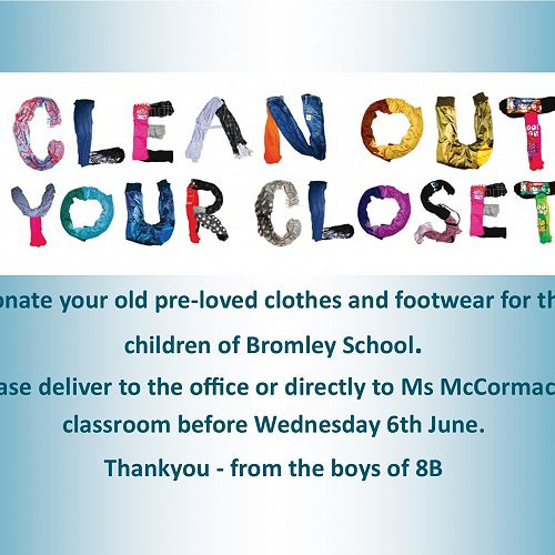 Bromley Clothes Drive