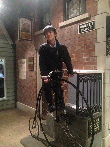 Keigo at the Canterbury Museum