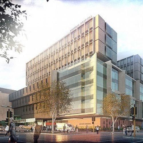 An artist's impression of a new Dunedin Hospital.