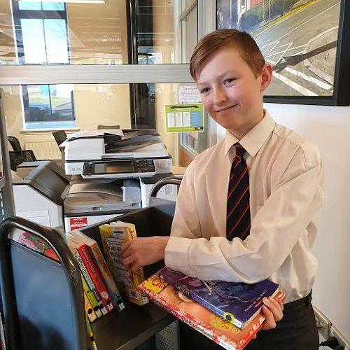 Class Librarian Aidan Seyb