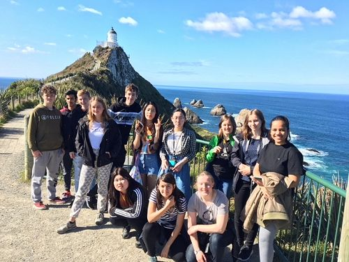 International trip to Nugget Point