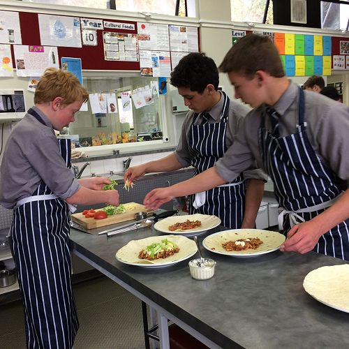 Year 10 Food Technology - Cultural Foods