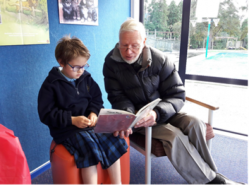 Grandparents Reading