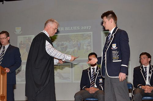 Winter Blues and NZ Honours Assembly