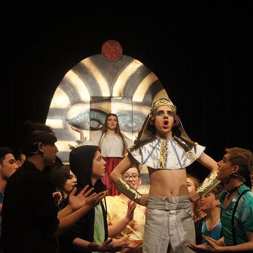 Alex as Joseph in last year's School Musical