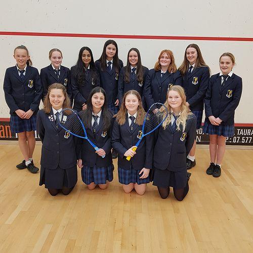 NZSS Squash A and B Teams