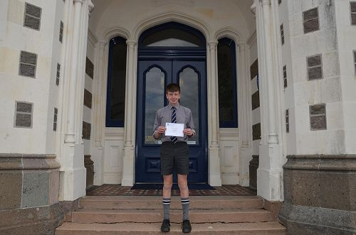 Colby Allen - Year 10 Student of the Term