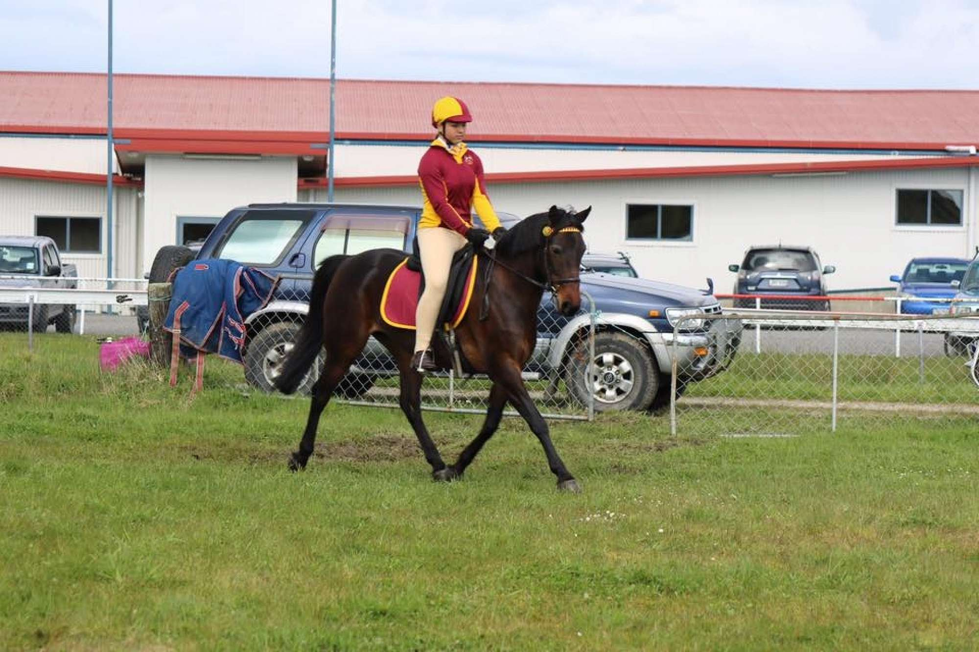Jessica Beri  from Kokatahi riding Tasman
