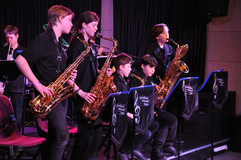 Chisnallwood band at Junior Jazz Jam