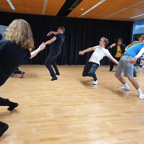 Dance workshop with Antonio Bukhar, Caroline Plummer Dance Fellow