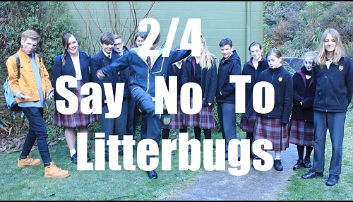 Anti-Litter Assembly