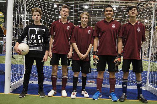LPHS Red Futsal Team