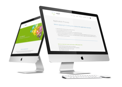 Youth Fund Dunedin responsive website design