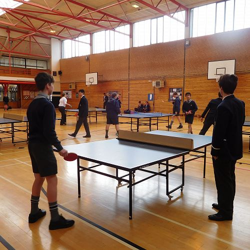 House Table Tennis Competition