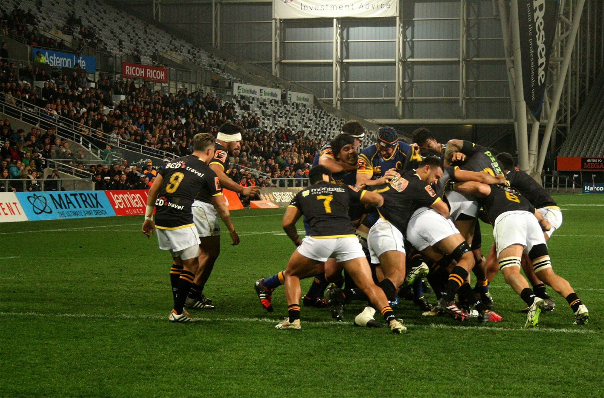 Otago v Wellington, 2016
