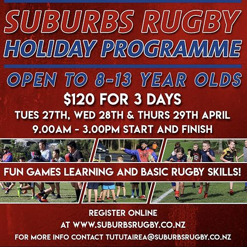 Suburbs Rugby Holiday Programme