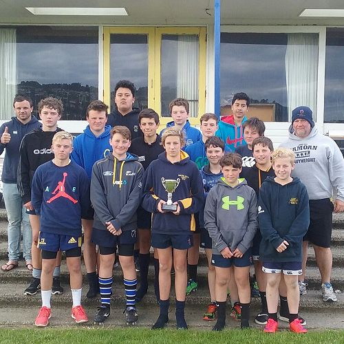 Year 7 and 8 Winning Rugby League Team