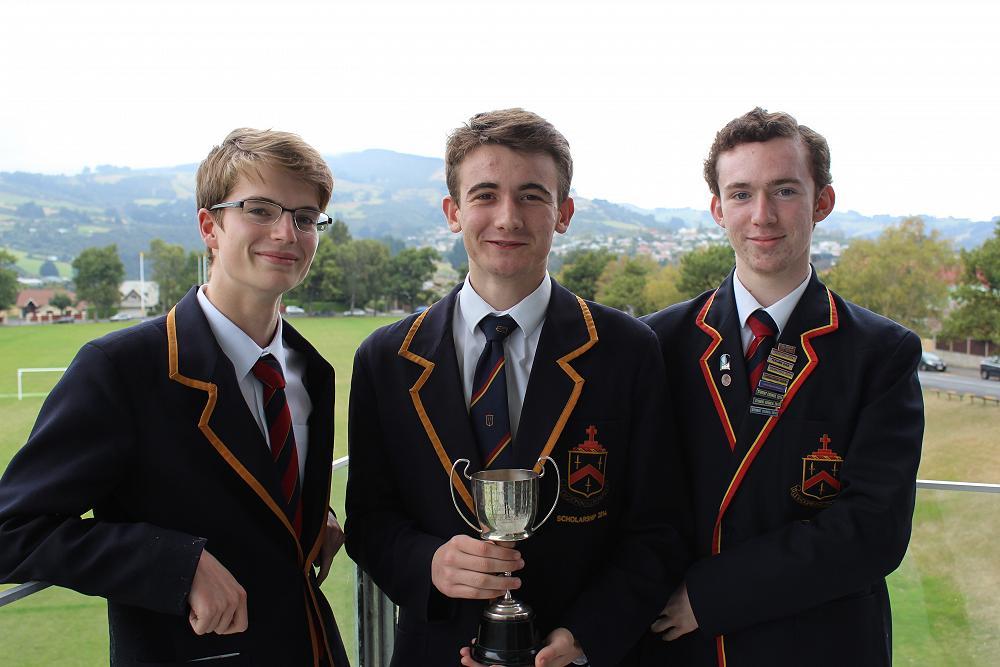 McGlashan 1 Debating Team - Otago-Southland Champions
