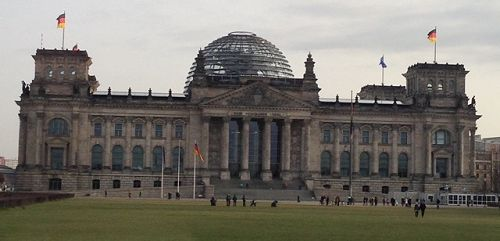 The Reichstag - German Parliament building
