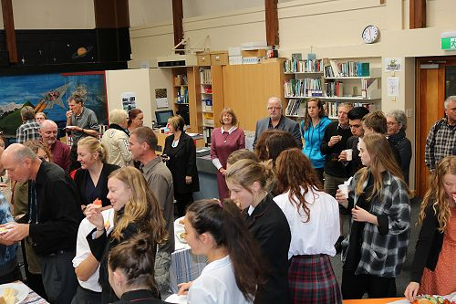 Scholarship and Excellence NCEA Morning Tea