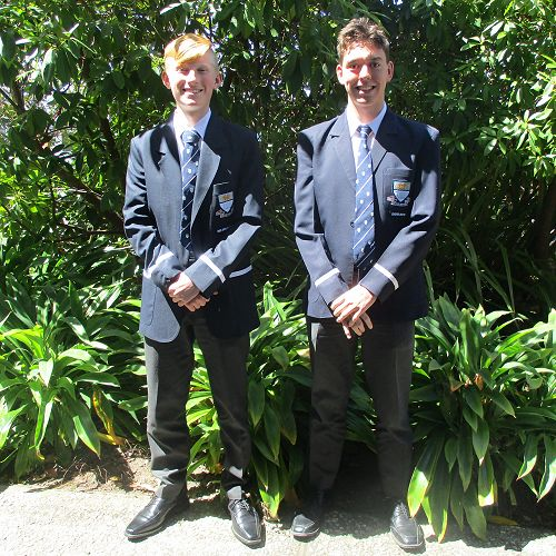 Teddy Finnie Waters and Nicholas Finnie