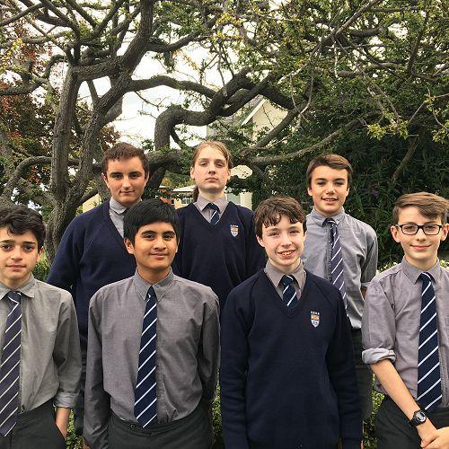 2017 OBHS Junior Debating Team