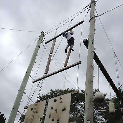 Wainui camp high ropes